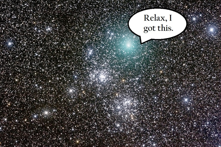 Thanks universe!
