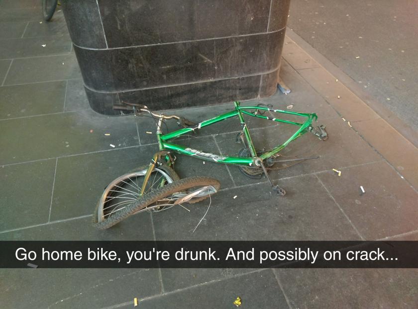 Drunk Bike Is Drunk.