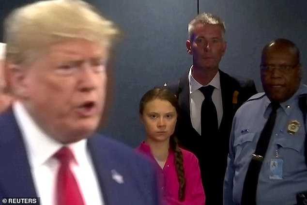 Greta Thunberg Scanners Donald Trump