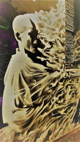 Street Art 001 - AC-DC Lane; Sacrifice and Rock & Roll 02a