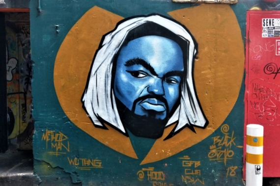 Street Art 004 - AC-DC Lane; Method Man 01